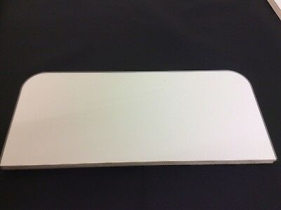 VW Transporter T5/T6 Single Seat Base Cover White Gloss Light Weight Ply
