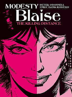 Modesty Blaise - The Killing Distance by Enric Badia Romero,Peter ODonnell