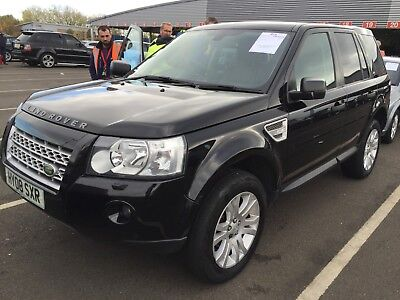 2008 Land Rover Freelander 2 2.2 Td4 Hse Manual Black *leather & Nav* 9 Services