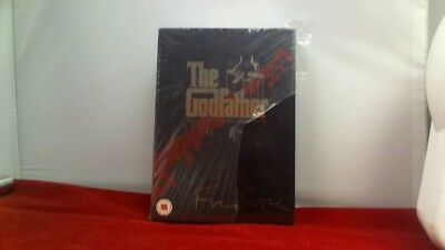 The Godfather Trilogy (DVD, 2008, 5-Disc Set, Box-Set) - RIPPED SEAL!!!