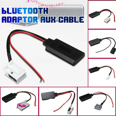 BLUETOOTH AUDIO ADAPTER Aux Cable For BMW Audi Benz Civic Suzuki Focus  Peugeot