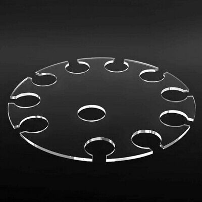 Champagne Flute Serving Tray, Holds 10 Flutes, Acrylic, Party, Wedding, Prosecco