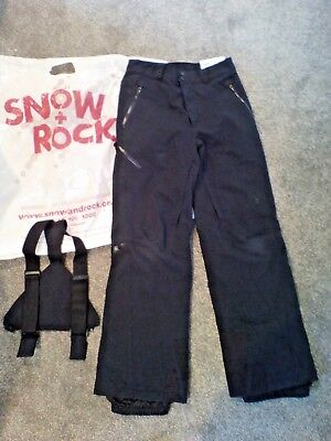 Kids boys/youth Spyder Ski Salopettes Trousers size 14/152 excellent condition