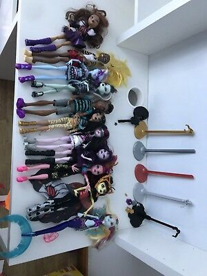 Monster High bundle Job Lot Dolls And Accessories