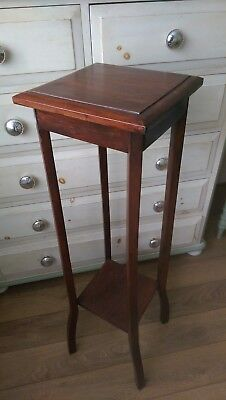 Antique 1920s/30s Art Deco Two-Tier What-Not, Aspidistra plant stand, Mahogany