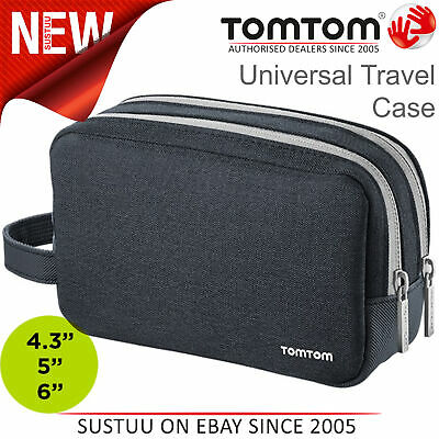TomTom Universal Travel Case│Protective Cover│For All 4.3''-5''-6'' GPS Sat Nav