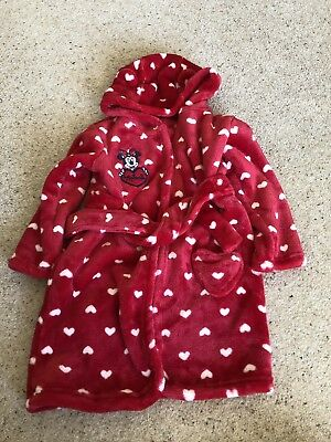 Baby Girl Dressing Gown 18-24 Months