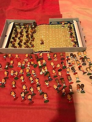 100 Microstar Football Figures Plus Case Which Acts As Pitch