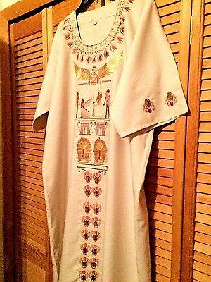 Ladies Dress Size XL Long Women's Clothing Maxi Apparel Traditional African EUC