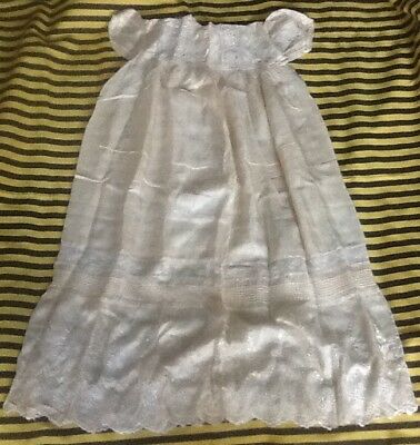 Vintage Antique Christening Gown Dress !