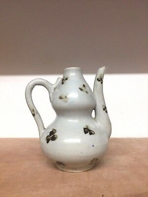 Rare Early Chinese Ewer With Iron Spots