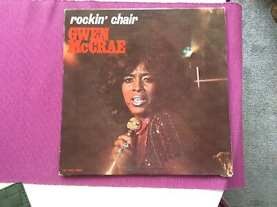 GWEN McCRAE u201cROCKINu0027 CHAIRu201d CAT ORIG SOUL FUNK LP EX u201c90 %  sc 1 st  PicClick & GWEN MCCRAE u201cROCKINu0027 CHAIRu201d CAT ORIG SOUL FUNK LP EX u201c90 % OF ME IS ...