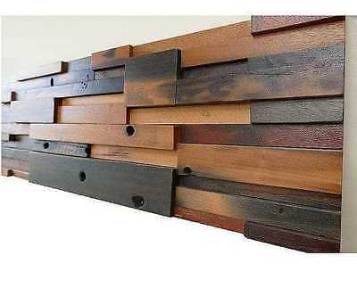 Wood Wall Panels, Reclaimed, Decorative, Wall Panels, Wall Tiles, 3D Wall Decor