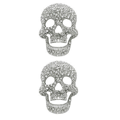 Shoelery Diamante Skull - Shoe Clips by Erica Giuliani