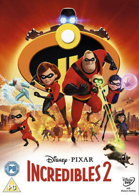 Incredibles 2 DVD (2018) Brad Bird ***NEW***