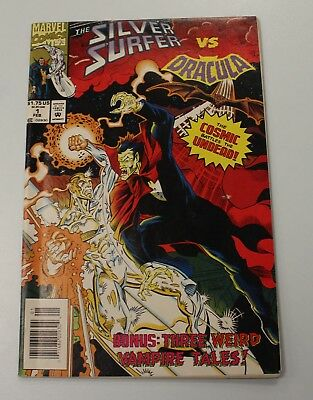 Silver Surfer VS Dracula Comic - Marvel - Issues #1 - FN/VF