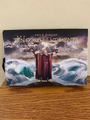 The Ten Commandments Deluxe DVD Box Set