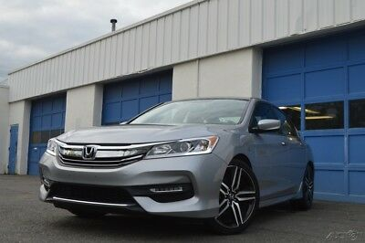2016 Honda Accord Sport Full Power Options Cliamte Control Rear View Camera Rear Spoiler Cruise & More
