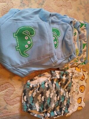 Lot Of 7 Potty Training Pants 2t Gerber And Rainbow Valley