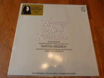 TCHAIKOVSKY - Piano Concerto No.1 - ARGERICH - HOLLAND Philips 6514 118 *NM*