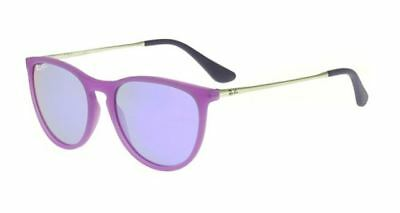 Ray Ban 9060S 9060/s 50 Junior 70084V Sunglasses Violet Rubber Bambini Baby Sole