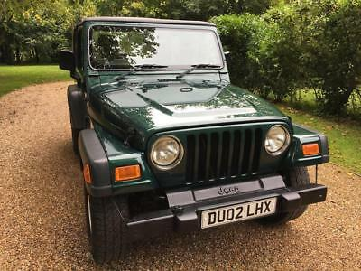 2002 Jeep Wrangler 4.0 Manual Sport 1 Lady Owner