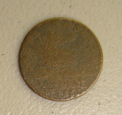1786 New Jersey Colonial Copper