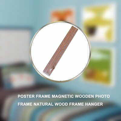 Poster Frame Magnetic Wooden Photo Frame Natural Wood Frame Hanger 21 ES