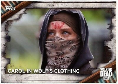 Carol In Wolf's Clothing #13 The Walking Dead Season 6 Topps 2017 Card ( C1976)