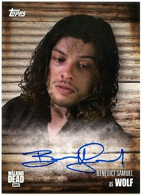 Benedict Samuel As Wolf The Walking Dead Season 6 Autograph Chase Card (C1983)