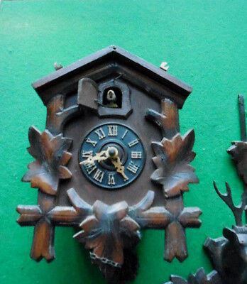 Cookoo Clock For Spares Or Repair.