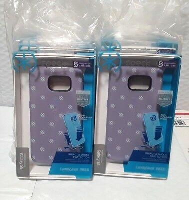 Lot of 12 Speck Samsung Galaxy S6 CandyShell Cases New STRIPE POLKA HEATHER