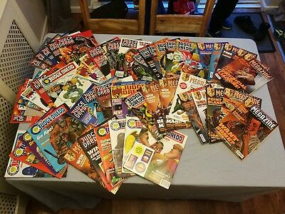50 vintage Judge Dredd Comics
