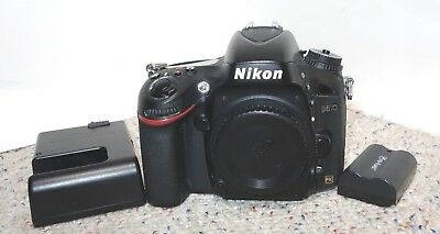 Nikon D610 Digital Camera - Black (Body Only)