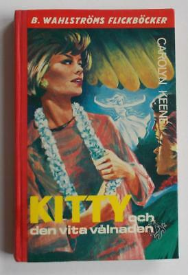 Swedish Nancy Drew book: Carolyn Keene- Kitty och den vita valnaden, 1970 1st ed