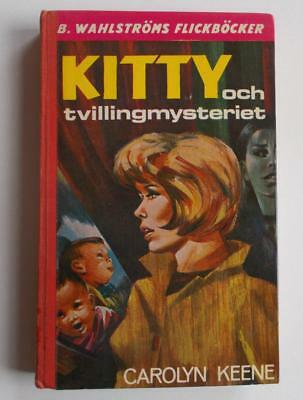 Swedish Nancy Drew book: C Keene- Kitty och tvillingmysteriet, 1973, 9th ed.