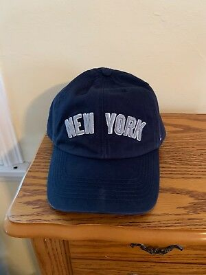 499d5f93b9cbc5 NEW YORK YANKEES Hat 2011 Playoffs Snapback 47 Forty Seven - $12.00 ...
