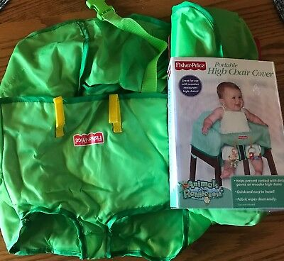 Fisher Price Portable High Chair Cover for Home or Travel