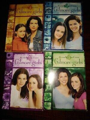 Gilmore Girls: The Complete Seasons 1- 4 (DVD, 2005, 24-Disc Set)