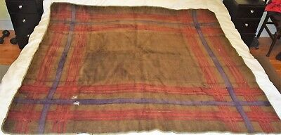 "Antique Stroock Carriage Buggy Sleigh Blanket Horsehair 60"" x 66"""