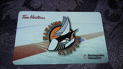 2018 Tim Horton's Gift Card Nanaimo Clippers
