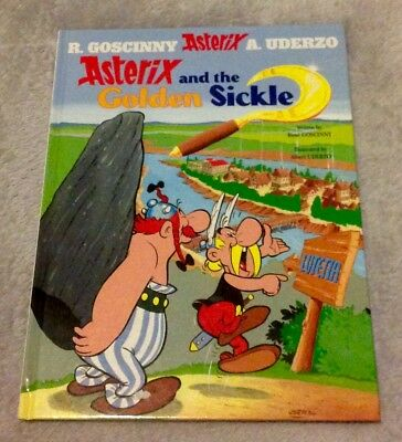 Asterix And The Golden Sickle by Goscinny & Uderzo (Hardback, 2004)