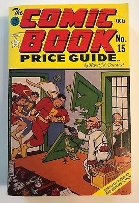 1985 Overstreet Comic Book Price Guide No 15 Softcover