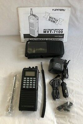 Yupiter MVT 7100 Multiband Receiver Boxed Used in Good Condition
