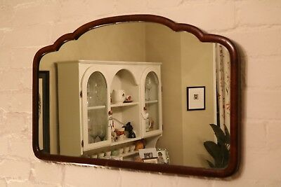 Vintage Art Deco Wall Mirror Land Scape Dressing Table Mirror