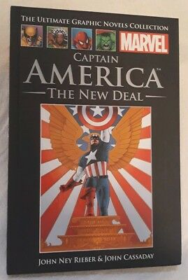 Captain America New Deal Marvel Ultimate Graphic Novels Collection Issue 14