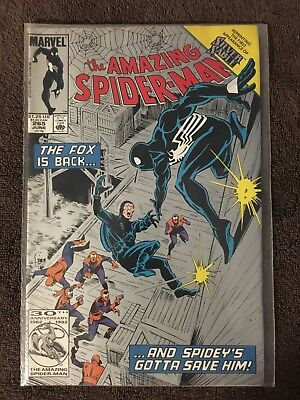 AMAZING SPIDER-MAN # 265 * First Appearance SILVER SABLE * Second Print VARIANT