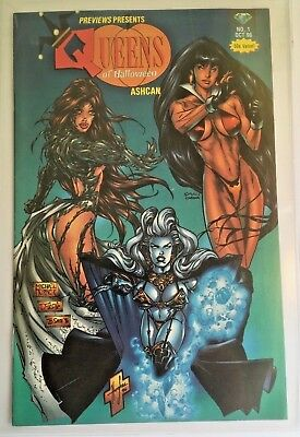 1996 Previews Presents Queens of Halloween Ashcan Comic Turner Cover NM