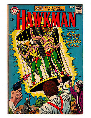 """Hawkman #3 - Grade:7.0 - """"the Birds In The Gilded Cage!"""""""