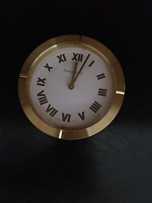 Tiffany & Co Brass Swiss Authentic- Made Clock
